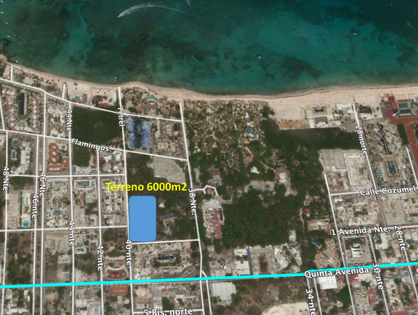 lot in playa del carmen